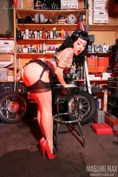 """Masuimi Max — pinupandfetish.tumblr.com Check out""""Pin-up Models"""" page"""