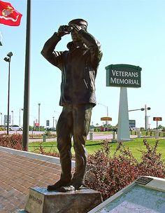 Bronze sculptures by North Platte native Ted Long North Platte Nebraska, Nebraska State, American Pride, American History, Old Western Movies, War Memorials, Veterans Memorial, Wwii, The Twenties