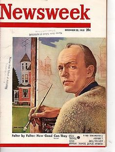 1952 Newsweek December 22-John Falter;Dixie School Segregation;France's Troubles