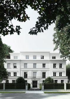 Wohnbebauung, Hamburg Rotherbaum