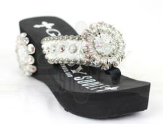 OMG! Love these! Swarovski Crystal flip flops. Ladies, my friend Jeff told me about these so blame him when you see the price and still want a pair!