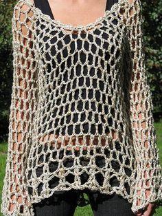 Fabulous Crochet a Little Black Crochet Dress Ideas. Georgeous Crochet a Little Black Crochet Dress Ideas. T-shirt Au Crochet, Cardigan Au Crochet, Pull Crochet, Black Crochet Dress, Crochet Jacket, Chunky Crochet, Crochet Woman, Crochet Cardigan, Crochet Simple
