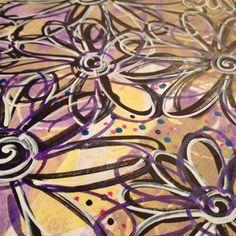 #artjournaling #simplyjennifersuzanne #flowers #doodles #mixedmedia #junkjournal #simpleart #artjournal