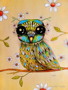 'The Peridot Owl' by Karin Taylor