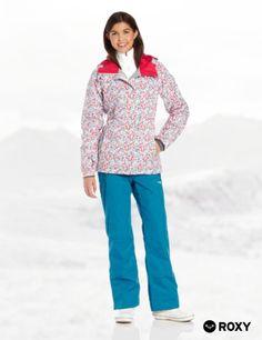 Roxy Snow Juniors American Pie Snow Jacket