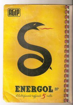 Carta automobilistica d'Italia omaggio Agip 1954 pubblicità ENERGOL AGIPGAS SUER   eBay
