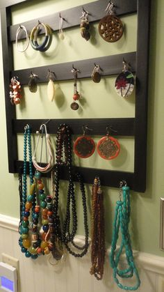 Keychain holder turned Jewelry Holder/Display