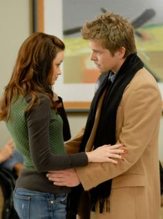 He's always there for her! Favorite couple!! GG <3