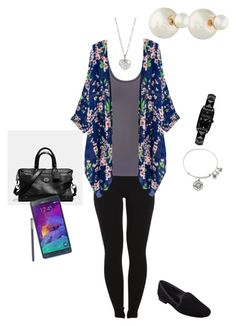 """OOTD 02/12/2015"" by ladykbaez on Polyvore featuring Pieces, maurices, Christian Dior, Finn, Coach, Nine West, Samsung, Karl Lagerfeld and Alex and Ani"