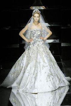 Elie Saab Spring 2008 Couture - Collection - Gallery - Style.com