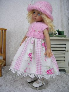 """""""Pink Angora Dress Outfit"""" from ulladesigns on ebay, ends 7/9/14."""