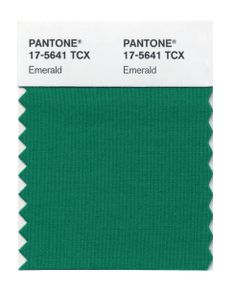 PANTONE Color of the Year 2013 - Emerald  Powerful - Harmonious - Balanced
