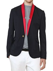 PIERRE BALMAIN - STRETCH WOOL JACKET - LUISAVIAROMA - LUXURY SHOPPING WORLDWIDE SHIPPING - FLORENCE
