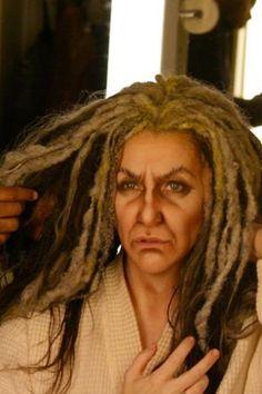 Great old age makeup. Joyce DiDonato in Enchanted Island