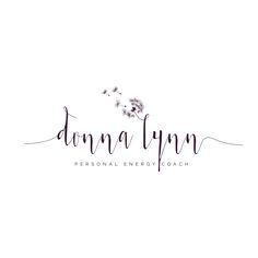 Donna Lynn - Personal Energy Coach | Logo design by Friendly Label #dandelion,#logo,#energy coach