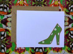 High Heel notecard