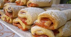 Cookie Desserts, Sweet Desserts, Cookie Recipes, Delicious Desserts, Dessert Recipes, Jam Cookies, Sweet Little Things, Polish Recipes, Sweet Cakes