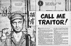 BATTLE CRY, Dec. 1955, Korean War POW story.