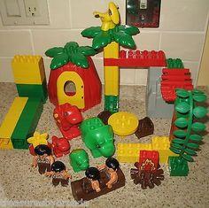Lego's Duplo Dino Dinosaur World Set 2604 has Cavemen and Dinosaurs! #duplo #dinosaurs