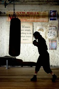 """""""Winners are willing to do what simply losers don`t.""""-Million Dollar Baby"""
