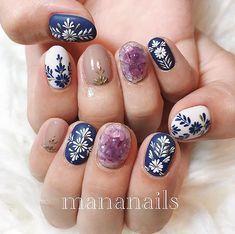 Stylish Nails, Trendy Nails, Cute Nails, Hair And Nails, My Nails, Henna Nails, Nail Art Pictures, Wedding Nails Design, Round Nails