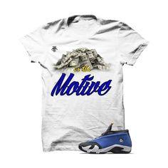 ae7fd4eb7eb002 Money Is The Motive Laney Jordan 14 White T Shirt