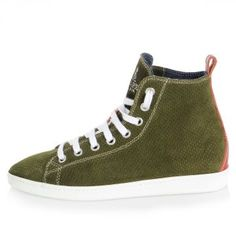 a5e4c5e8f93 Buy Pierced Leather Sneakers with Logo at outlet price on Glamood. The best  men Pierced Leather Sneakers with Logo offer for your classy wardrobe.