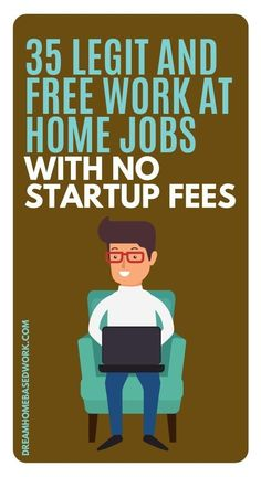 Where are all the legit work at home jobs?  In this list!  Avoid scams which typically require startup fees.  Browse this frequently updated list! #hiring #jobs #workathome