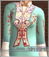 XM Sims2 free Sims 2 computer game outfit everyday formal download