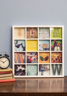 Hmmm, bet I could use a tray or picture frame, and wooden dowels and make one of these... Memorable Style Frame, #ModCloth
