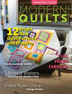 Modern Quilts Unlimited Fall 2012