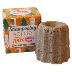 Shampoing solide pour cheveux normaux au sapin argenté de #lamazuna #ecologie