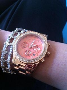 Michael Kors watch and bracelet