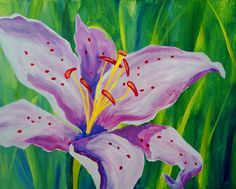 Paint Nite: Discover a new night out and paint and sip wine with friends Paint And Sip, Easy Paintings, Learn To Paint, Pictures To Draw, Painting Inspiration, Crochet Projects, Orchids, Night Out, Painting Classes