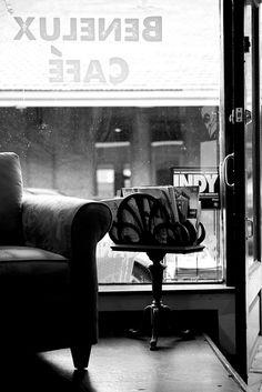Benelux cafe in city market - best in raleigh