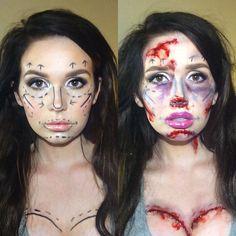 Nip/Tuck - DIY Halloween Makeup Trends