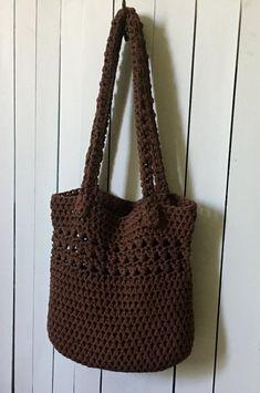 I simply love this Jasmine Stitch Purse. Crochet Market Bag, Crochet Tote, Cute Crochet, Crochet Crafts, Crochet With Cotton Yarn, Crochet Yarn, Crochet Hooks, Crochet Designs, Crochet Patterns