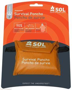 Survive Outdoors Longer Survival Poncho 0140-6000 #SOL
