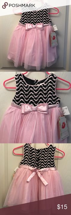 Baby girl dress size 12mo New with tags size 12mo Sweet Heart Rose Dresses Formal
