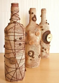 View album on Yandex. Crochet, Fun, Blog, Home Decor, Username, Bottles, Interior, Google, Empty Wine Bottles