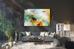 Items similar to Large Modern Wall Art Painting,Large Abstract Painting on Canvas,texture painting,gold canvas painting,gallery wall art on Etsy Large Abstract Wall Art, Large Painting, Painting Art, Knife Painting, Painting Gallery, Oil Canvas, Canvas Wall Art, Acrylic Canvas, Art Original