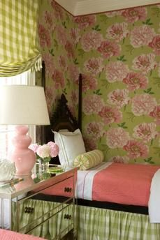 VICTORIA NEALE INTERIORS <3 - This lovely little space can be decorated in any color scheme (check.floral.solid)