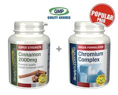 My review of SimplySupplements Cinnamon 2000mg 120 tablets + Chromium Complex 120 tablets | For a healthy & normal blood sugar levels - http://alternative-health.kindle-free-books.com/my-review-of-simplysupplements-cinnamon-2000mg-120-tablets-chromium-complex-120-tablets-for-a-healthy-normal-blood-sugar-levels/