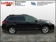 Used 2014 Outback for sale in Bloomington, MN at Luther Bloomington Subaru dealership. Check out this Crystal Black Silica 2014 Subaru Outback 2.5i Premium AWD 2.5i Premium  Wagon CVT. Minnesota Subaru dealership. Used Subaru for sale near Minneapolis, MN. Black Pre-Owned Outback for sale Twin Cities >> Learn more, see milage and schedule a test drive.