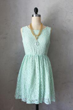 Sweet Mint Dress minus the hideous necklace