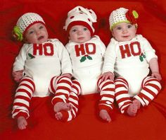 These handmade holiday onesies are an easy way to add instant celebratory style to any Christmas party or photo shoot. Just add pants! (Or don't.)