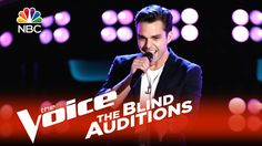 """The Voice 2015 Blind Audition - Travis Ewing: """"Say My Name"""""""