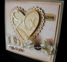 Vintage Valentine - Make your own Paper Lace Die-Cut (includes video)