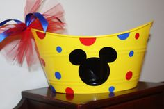 Personalized Plastic Pail  Oval  Perfect For Easter by LittleLad, $15.00