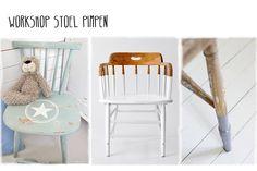 Tijdens de workshop stoel pimpen, gaan we een oude stoel omtoveren tot een ware eye catcher. Leuk om samen met vriendinnen of tijdens een vrijgezellenfeest te maken! Neem je eigen stoel mee. Heb je die niet kun je er hier een kopen a €12,50. Duur workshop: 3 uur. Kosten: € 35,- exclusief stoel, inclusief materialen, koffie/thee en iets lekkers. Start workshop dinsdag 20 januari 2015 om 20:00.
